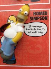 Simpsons Stick`ems Figurine, 2009, Homer Simpson