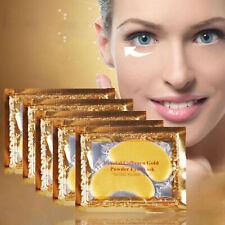 Cristal De Colágeno Oro Antiarrugas Antiedad Under Eye Gel parche Máscara Facial