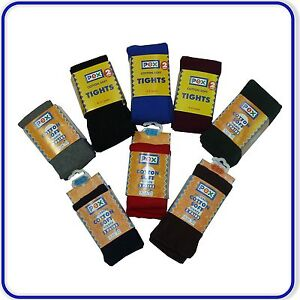 New PEX Cotton School Tights 2 Pairs / Pack UK sizes Girls age 3-13 years Teens
