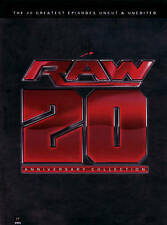 WWE Raw 20th Anniversary Collection 20 Greatest Episodes Uncut/Unedited 12 Discs