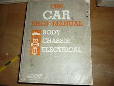 1986 Ford Tempo Escort Topaz Lynx Service Oem Manual