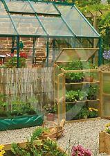 Grow-Bag Wooden Mini Grow-House Walk in Reinforced Green house Gardman FSC® cert