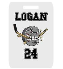 Hockey Bag Tag Personalized For Sports Duffle Bags Backpacks Luggage Custom