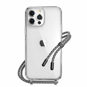 SwitchEasy Play Lanyard Shockproof Clear Case for iPhone 13/13 Pro/13 Pro Max