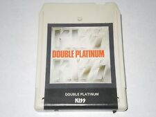 KISS DOUBLE PLATINUM CASABLANCA 1976  8-TRACK TESTED CLEAN!