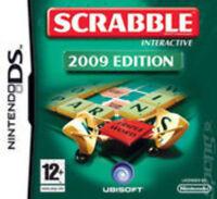 Scrabble Interactive 2009 Edition (Nintendo DS Game) *VERY GOOD CONDITION*