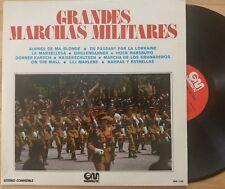 GRANDES MARCHAS MILITARES   LP mit 11 internationalen Märschen - Marschmusik