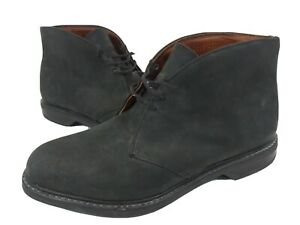 Sperry Top-Sider Dress-Casual Chukka Ankle Boots Gray Suede Shoes Men's Sz 9 W