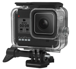 Waterproof Housing Case for GoPro Hero 8 Black Protective Shell with Bracket
