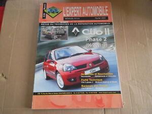 REVUE TECHNIQUE RENAULT CLIO 2 PHASE 2 ESSENCE ET DIESEL DEPUIS 2001