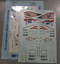 Microscale Decals 1/72 F-4N Navy Phantoms VF-151 & VF-161 72-309
