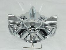 BOSS MOTORSPORTS SERIES 348 WHEEL RIM CHROME CENTER CAP ACC 3314 06 SCREW ON