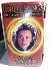 Nib Lord of the Rings Arwen the Elf Light-up Glass Goblet 2001 Collection