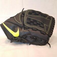 Nike MVP Edge YOUTH Baseball Glove Left Hand Black/Neon (BF1726-012)