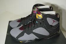 Nike Air Jordan 7 Retro Bordeaux Black x Grey Deadstock DS Basketball Shoes