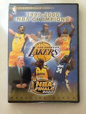 Los Ángeles Lakers: 1999-2000 NBA Campeones Serie DVD Kobe Shaquille Nuevo