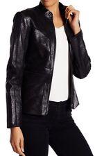NWT Zac Posen Leather Jacket  Size Small $868
