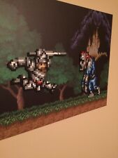 Super Ghouls 'N Ghosts  SNES fan art painting custom artwork rare snes cart wow