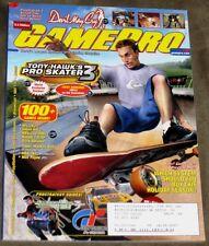 Gamepro Magazine #158 November 2001 Tony Hawks Pro Skater 3