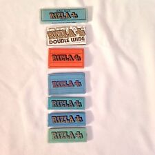 Lot of 7 Vintage Tobacco Rizla Rolling Papers Unused Rare