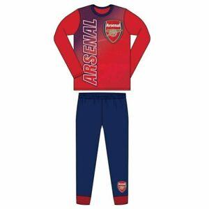 Boys Pyjamas ARSENAL Football Official Age 4 5 6 7 8 9 10 11 12 Year Gunners