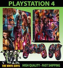 PS4 Skin X-Men Group Superheroes Mutants Sticker + Controller Decals Standing