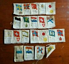 21 Antique Cigarette Tobacco Flags Country City Zira Nebo Egyptienne Japan More