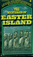 MYSTERIES OF EASTER ISLAND by Jean-Michel Schwartz (1975) Avon illustrated pb