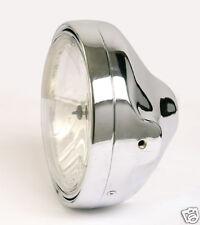 Klarglas Scheinwerfer H4 Suzuki Bandit GSF 600 N CHROM, chromed headlight