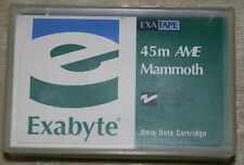 New Sealed Exabyte Mammoth-2 M2 Data CartridgeTape 8mm 45M AME Quantity 1