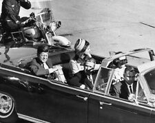 1963 JFK JOHN F KENNEDY at Dallas TX Glossy 8x10 US President Photo Print Poster