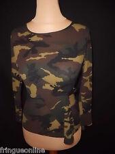 Haut COMPTOIR DES COTONNIERS  Taille S Camouflage -  à  -67%*