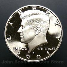 1991-S Kennedy Half Dollar -  Gem Proof Deep Cameo U.S. Coin