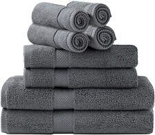 79401 Towel Set, 2 Bath Towels, 2 Hand Towels, and 4 Washcloths (8 Piece Set)