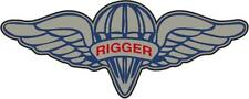 Parachute Rigger Wing Die-Cut Vinyl Sticker for Car or Truck Window