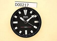 NEW SEIKO BLACK DIAL HANDS MINUTE TRACK SET FOR SEIKO 7002 7000 WATCH D00217