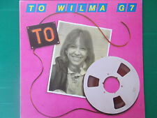 LP WILMA GOICH TO WILMA G7 RARISSIMO LP 1981 COME NUOVO LOOK