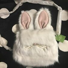 FS!NWT Kate Spade Make Magic Rabbit Bunny Shoulder Bag Clutch Purse Sold out