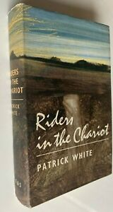 1961 1st RIDERS IN THE CHARIOT, PATRICK WHITE, FREE EXPRESS AUST WIDE