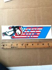 Vintage  Skateboard Sticker GAS USA