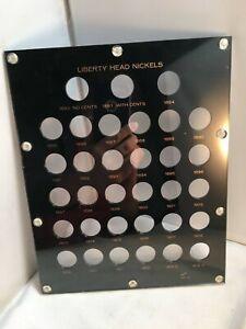 Liberty Head Nickels - Capital Plastics Coin Display Case - 467-M - Mint - A1691
