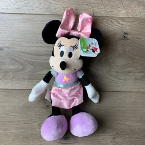 Disney Minnie Mouse Plush Stuffed Animal By Just Play Spring Outfit NEW