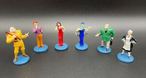 6 Collectible Suspect Tokens Original Parts for 2005 Clue Board Game