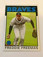 2021 Topps Baseball 1986 Topps 35th Anniversary - Freddie Freeman - Braves