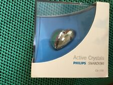 Swarovski  Phillips CRYSTAL HEART IN USB MEMORY KEY NEW &BOXED