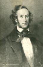 Felix Mendelssohn Bartholdy Vintage carte photo, Jakob Ludwig Felix Mendelssohn