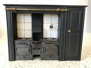 Dolls house miniature 1:12 ARTISAN large range cooker by BASIL SMEATHAM