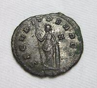 AE ANTONINIANUS. GALLIENUS, ROME MINT, 260-268 AD. SECURITAS REVERSE.