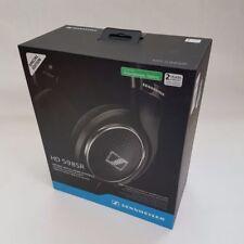 Sennheiser HD 598SR Sobre la Oreja Auriculares Con Control Remoto Inteligente-Negro RRP - £ 199-Nuevo