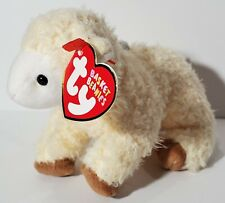 "TY Basket Beanie Babies ""BAASHFUL"" EASTER Lamb ORNAMENT - MWMTs! PERFECT GIFT!"
